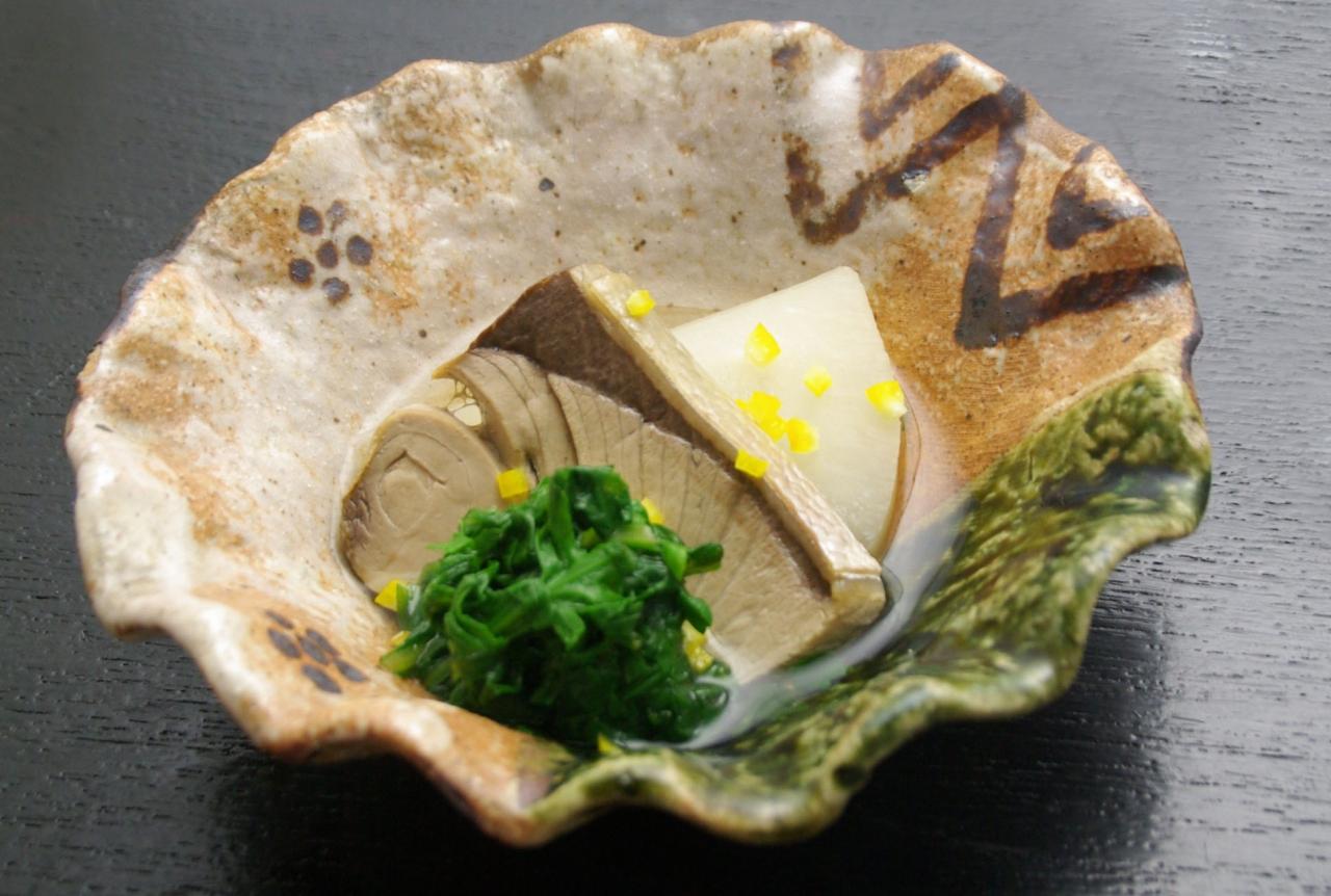 冬のレシピ:京風鰤大根